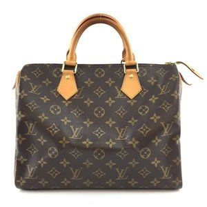 Louis Vuitton Speedy 30 Boston Brown Stachel
